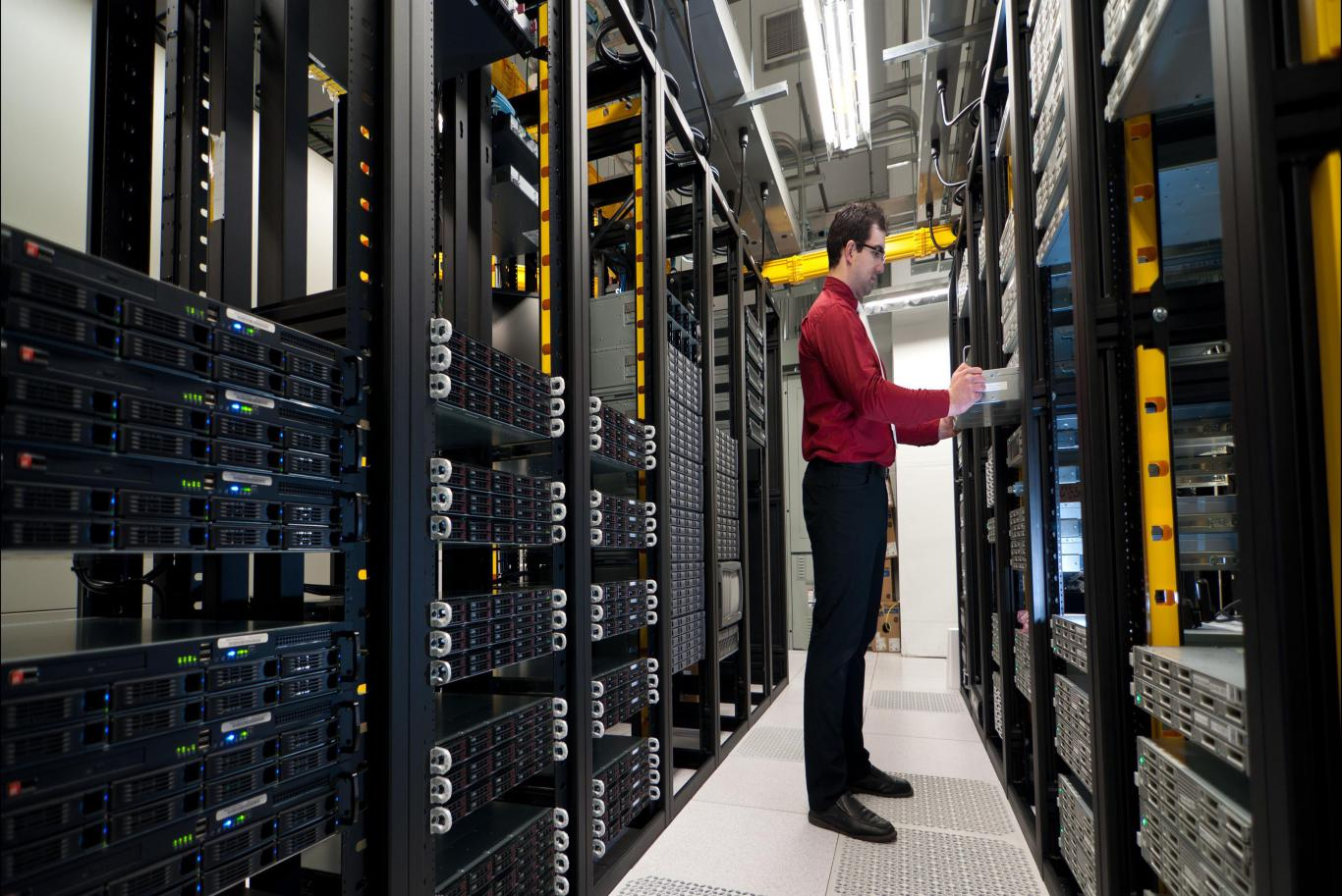 TAKE CONTROL OF YOUR DATA CENTER